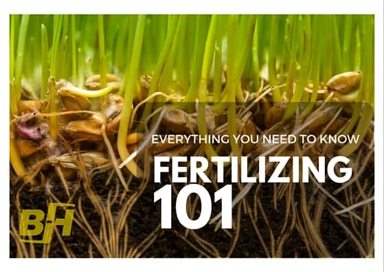 FERTILIZING 101