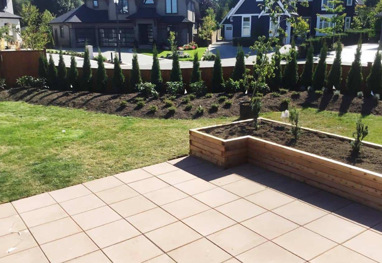 paver installation from a landscape contractor