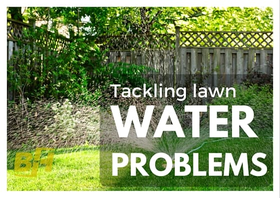 Tackling water problems