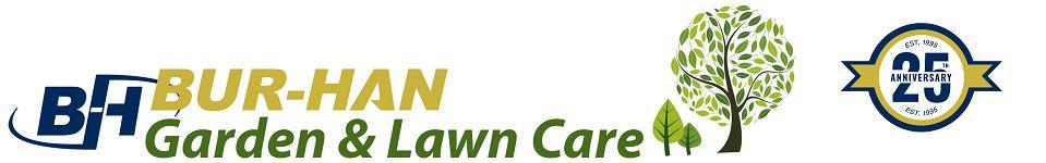 BUR-HAN Garden & Lawn Care Logo